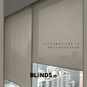 Jual Roller Blinds Blackout Sp 7701 Grey Sahid Sudirman Center Tanah Abang Jakarta ID5579