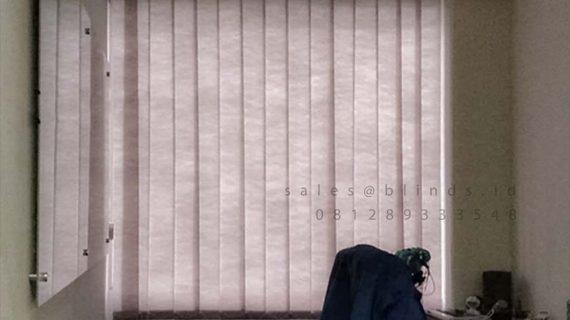 Jual Vertical Blinds Sp 8370-6 Grey Gedung Menara Duta HR Rasuna Said Setiabudi